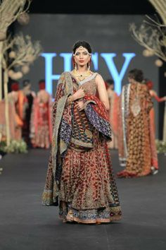 HSY Bridal Collection at PLBW 2013.