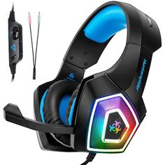 102b77c8ed2 Gaming Headset with Mic for Xbox One PS4 PC Nintendo Switch Tablet  Smartphone, 691202631170