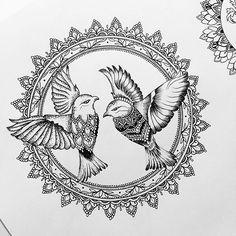 Tattoo Designer @oliviafaynetattoo For Alexandra #bi...Instagram photo | Websta (Webstagram)