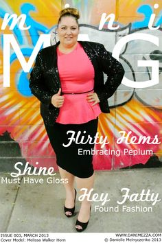 (click to read) MINI MAG - ISSUE #003 {Inside: Peplum}