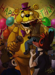 FNAF 4 - The Bite of '87 by LadyFiszi.deviantart.com on @DeviantArt