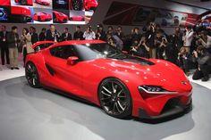 Toyota Ft-1 Concept Revealed intended for Toyota Ft 1 Revealed Detroit