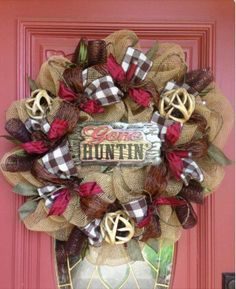 Who else adores this wreath?! I need one for my front door!! ~Stephanie H.