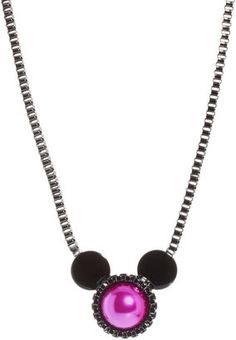 Minnie Mawi By Disney Couture Minnie Ears Necklace