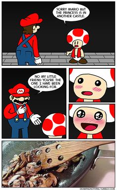 Love Mario comics