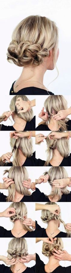 Hair Tutorials: Knot Updo Hairstyles