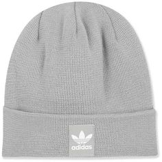 27179c47f59 Rib Logo Beanie by Adidas ( 26) ❤ liked on Polyvore featuring accessories