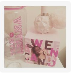 Shared by ღ Kayla ღ 🎃🎀. Find images and videos on We Heart It - the app to get lost in what you love. Ariana Merch, Ariana Grande Perfume, Sweet Like Candy, Viva Glam, Pretty Wallpapers, We Heart It, Fragrance, The Incredibles, My Favorite Things
