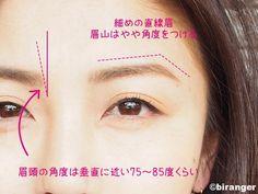井川遥の眉を真似るだけで…「大人キレイな清涼顔」の出来上がり!