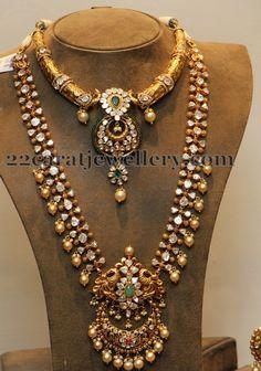 Jewellery Designs: Nizami Collection from Hiya jewels Indian Wedding Jewelry, Indian Jewelry, Bridal Jewelry, Indian Jewellery Design, Jewelry Design, Latest Jewellery, Handmade Jewellery, Designer Jewelry, Bollywood Jewelry