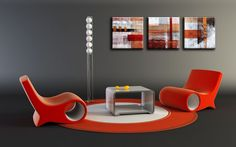 ONLINE SCHILDERIJEN KOPEN Egg Chair, Lounge, Furniture, Home Decor, Kunst, Airport Lounge, Drawing Rooms, Decoration Home, Room Decor