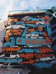Street art in Prague