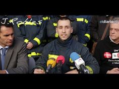 Rueda de prensa de bomberos. 31 enero 2014