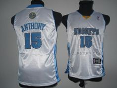 http://www.xjersey.com/nuggets-15-anthony-white-youth-jersey.html NUGGETS 15 ANTHONY WHITE YOUTH JERSEY Only 32.17€ , Free Shipping!