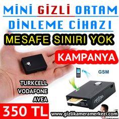 Mini Ortam Dinleme Cihazı GSM