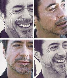 Robert Downey Jr.: that face.