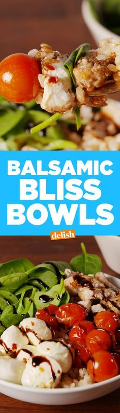 Balsamic Bliss BowlsDelish