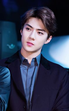 SEHUN❤️ that look though ur beautiful Oppa