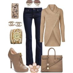 """""""Beige Is The New Black"""" by carolyn1984 on Polyvore"""