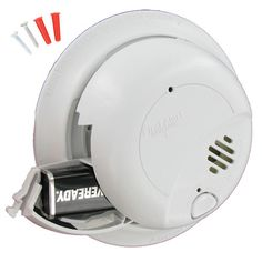 Looks like the replacement that Oakwood Builders used after our house fire---120VAC Hardwired Smoke Alarm with Battery Backup
