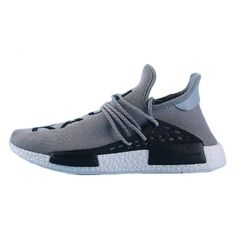 "Pharrell Williams X adidas NMD HUMAN RACE""Gery black"" S79164 Mens Size:EUR39-45 UK5.5-10"