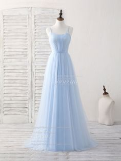 blue prom dresses Simple blue tulle long prom dress blue bridesmaid dress shopluu unique design, shopluu all rights reserved Material:tulle Size:US US US US US Pretty Prom Dresses, Prom Dresses 2018, Tulle Prom Dress, Dance Dresses, Ball Dresses, Simple Dresses, Elegant Dresses, Beautiful Dresses, Evening Dresses