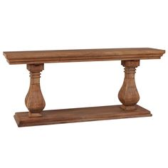 Bayside Solid Mahogany Timber Console Table, 200cm