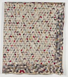 From the Quilters Guild collection. British quilt early 20th century.