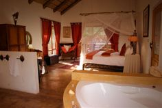 Phefumula Luxury Self Catering Cottages: romantic, secluded, decadent Self Catering Cottages, Romantic, Luxury, Bed, Furniture, Home Decor, Homemade Home Decor, Stream Bed, Home Furnishings
