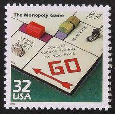 #Monopoly #PassionGiftStampArt #Art