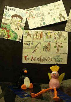 comic strip lesson plan Classroom Art Projects, Book Projects, Art Classroom, School Classroom, Classroom Ideas, 8th Grade Art, Comic Books Art, Comic Art, Book Art