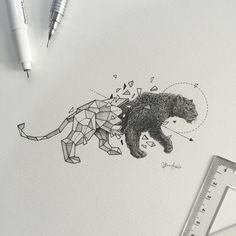 "47.8k Likes, 245 Comments - K E R B Y   R Ø S A N E S (@kerbyrosanes) on Instagram: ""Geometric Beasts 