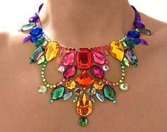 Exotic and Colorful Rainbow Floating by SparkleBeastDesign on Etsy