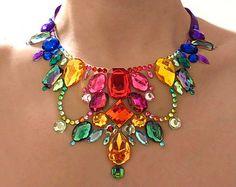 Diamantes de imitación brillantes arco iris por SparkleBeastDesign
