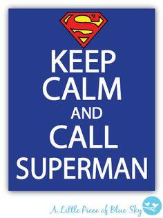 Keep Calm And Call Captain America Print _ by LittlePieceofBlueSky