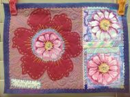 Let's Play! Lets Play, Things To Come, Let It Be, Embroidery, Flowers, Needlework, Drawn Thread, Flower, Stitch