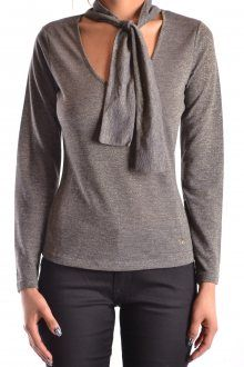 Terms: New With LabelYear: Color: GraySeason: Fall / WinterMade In: Turchia Size: ItGender: WomanClothing Type: Sweater Composition: Polyamide Polyester Viscose T Shirt And Jeans, Armani Jeans, Couture Collection, Chic Outfits, Shirt Blouses, Luxury Fashion, Women's Fashion, Long Sleeve Shirts, Pullover