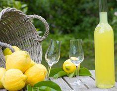 Limoncello is an Italian lemon liqueur mainly produced in Southern Italy. Limoncello is traditionally served chilled as an after-dinner digestive. Lemony Lemon, Lemon Lime, Lemon Joy, Villa Mallorca, Capri Italia, Lemon Liqueur, Homemade Limoncello, Almond Cakes, Gluten Free Cakes