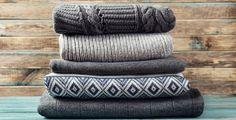 Ze starých svetrů lze vytvořit spoustu hezkých věcí do bytu.