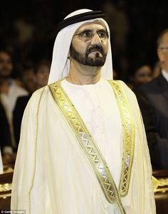 Dubai's Sheikh Mohammed and his son take a trip on the London ...
