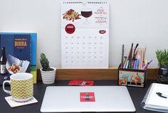 Avete ricevuto il nostro Calendario Birrario con gli abbinamenti disegnati dalla bravissima @candyclouds? Fateci vedere dove l'avete appeso oppure mandateci le vostre foto siamo molto curiosi  [Vi ricordiamo che è in regalo con ogni ordine fino ad esaurimento scorte!] #cantinadellabirra