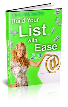 Build Your List With Ease - How To Use Your Autoresponder http://marketingtobefree.com/coolstuff2.php?r=DIMEROSE