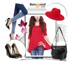 """""""Banggood  2"""" by melissa995 ❤ liked on Polyvore featuring vintage"""