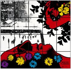 winter flower by gilbert and george