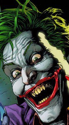 Film ve Dizi Joker Comic, Joker Art, Batman Art, Joker Batman, Batman Joker Wallpaper, Joker Wallpapers, Comic Book Villains, Comic Books Art, Batman Universe