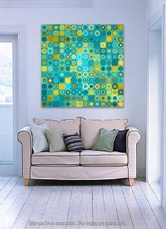 Circles and Squares #6. Modern Fine Art