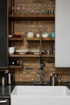 Ellen & Greg's Renovated Loft Kitchen Kitchen Tour | The Kitchn