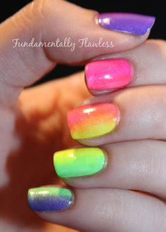 Fundamentally Flawless Models Own Ice Neon Gradient