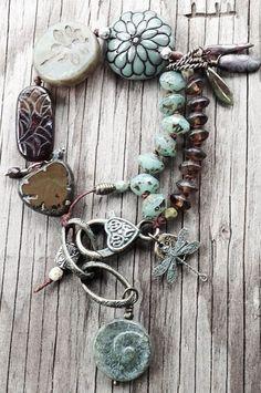 ☮ American Hippie Bohéme ☮ Boho Schmuck Sü- Süheyla Eşer … - Famous Last Words Boho Jewelry, Jewelry Crafts, Beaded Jewelry, Jewelery, Jewelry Bracelets, Jewelry Accessories, Handmade Jewelry, Jewelry Design, Boho Earrings
