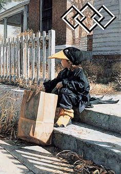 Little Black Crow - Steve Hanks - World-Wide-Art.com
